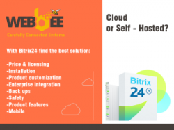 Transfer the Bitrix24 from the cloud to on-premises server