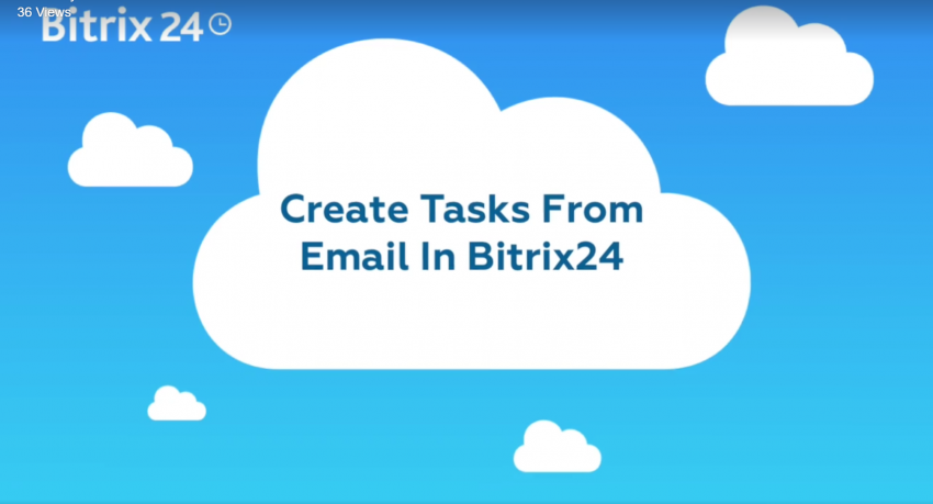How To Create Tasks From Email In Bitrix24
