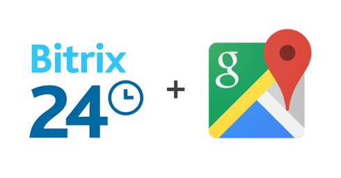 Address field with Google Maps for Bitrix24 CRM