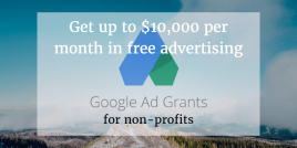 How Non-profit organisations can get Free advertising on Google AdWords?