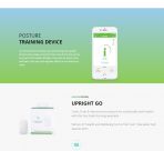 Upright Go device