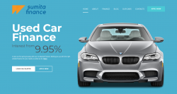 Car Finance company website