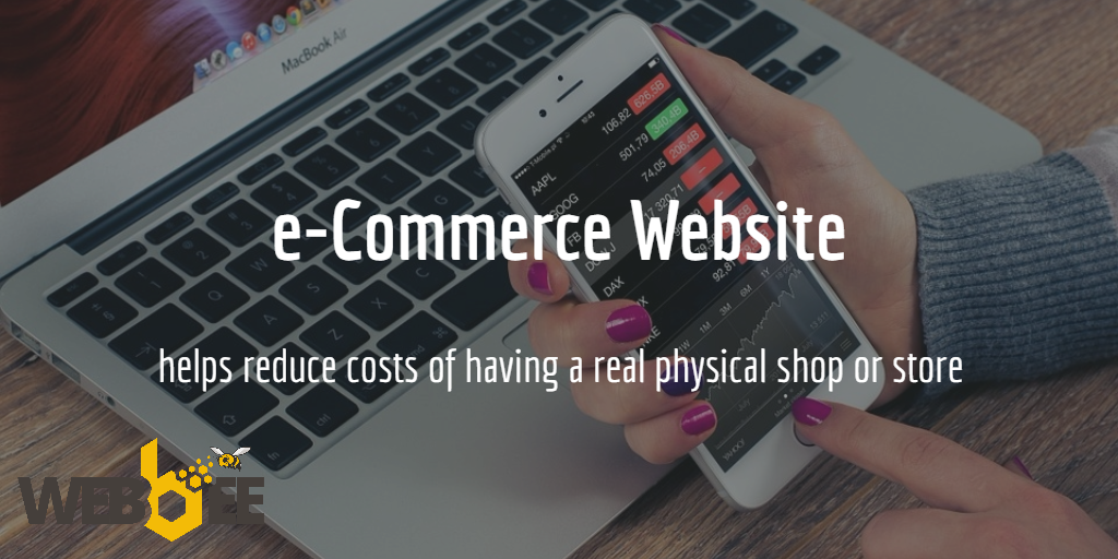 e-Commerce website from Webbee