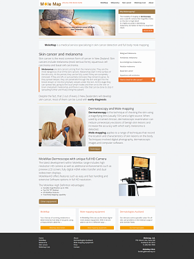 Corporate website design.  �3