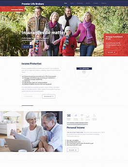 Landing Page - Income Protection Insurance